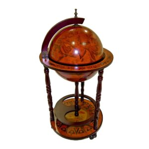 Antique Style Globe on Stand