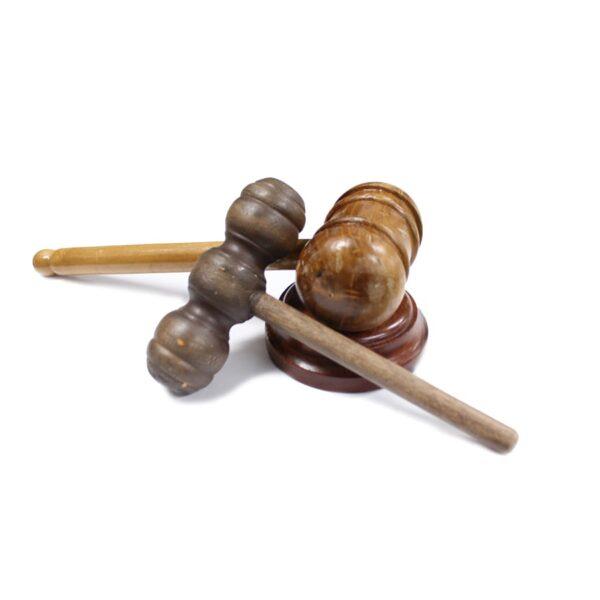 Judge's - Auctioneer's Gavel Set-0