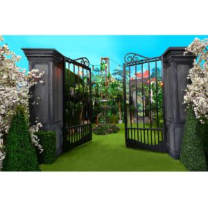 Large Entrance Gates - Sydney Prop Specialists - Prop Hire and Event Themi0ng