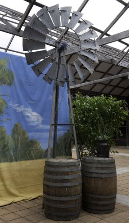 Large Windmill - Sydney Prop Specialists - Prop Hire and Event Theming
