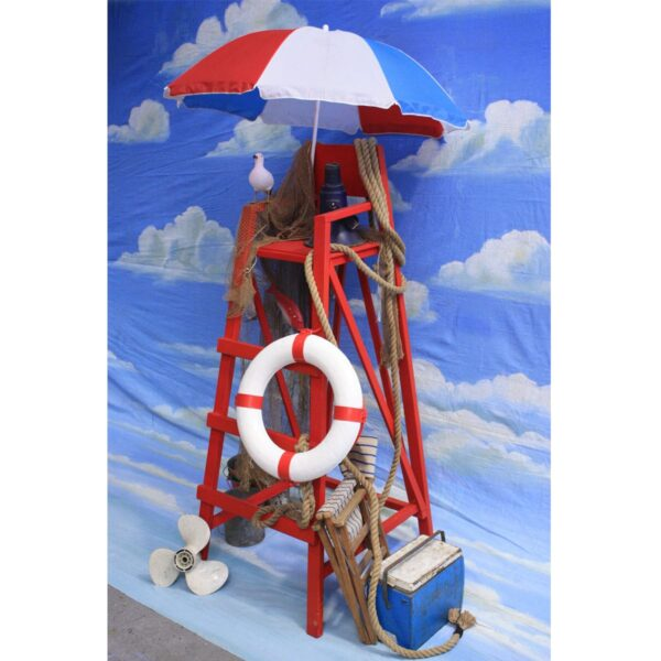 Lifeguard Chair - Tower - Sydney Prop Specialists - Prop Hire and Event Theming
