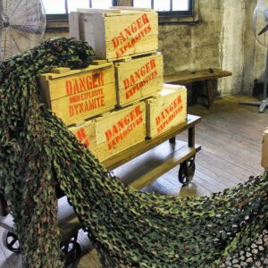 Lightweight Camouflage Net - Sydney Prop Specialists - Prop Hire and Event Theming