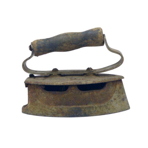 Old rustic vintage iron