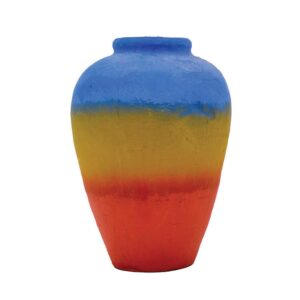 Small Colourful Mexican Style Urn-0