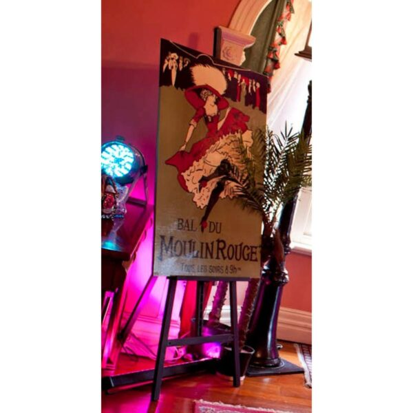 Burlesque Dancer French Theatre Poster-0