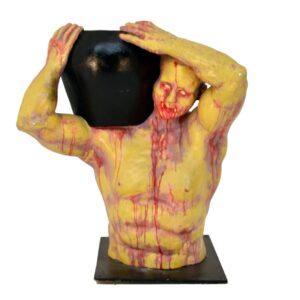 Nubian Slave Horror Urn