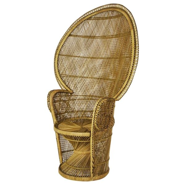 High Back Cane Chair - Natural