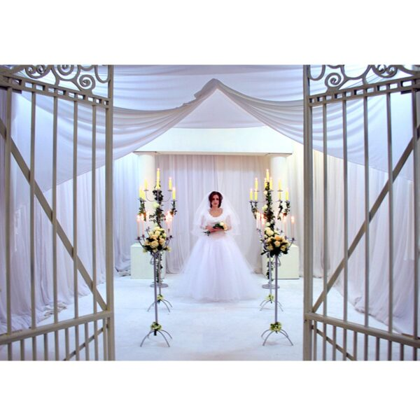 Pearly White Gates Set - Sydney Prop Specialists - Props Hire and Event Theming
