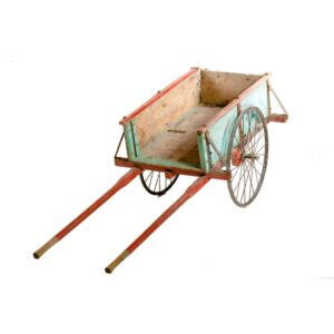 Cart 11 - Rustic Peasant Cart