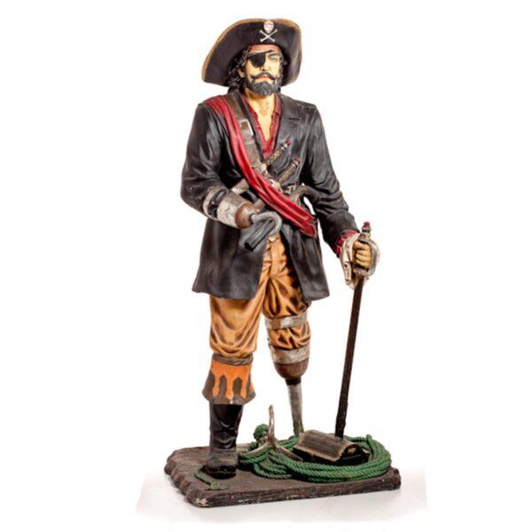 Pirate Captain Statue