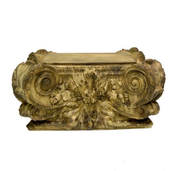 Regency Capital Style Plinth-11148