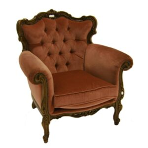 Rose Chesterfield Armchair-0