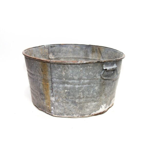 Small Old Wash Tub - Sydney Prop Specialists - Event and Prop Hire