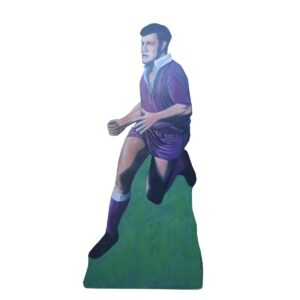 Cutout - QLD Rugby League Player