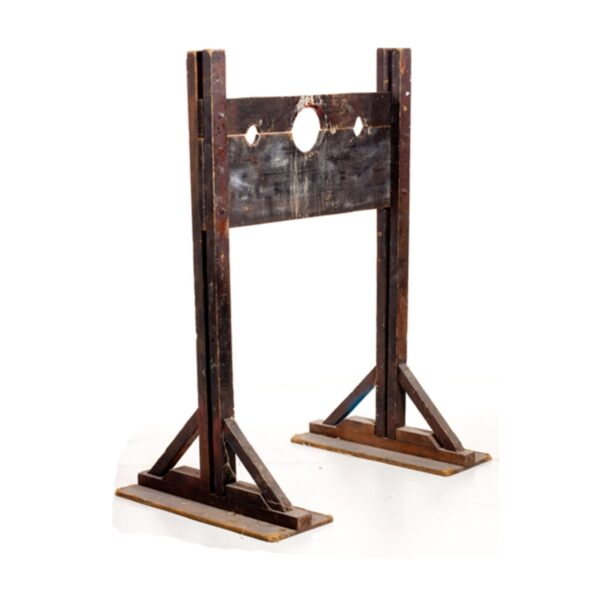 Convict Style Head and Hand Stocks-0