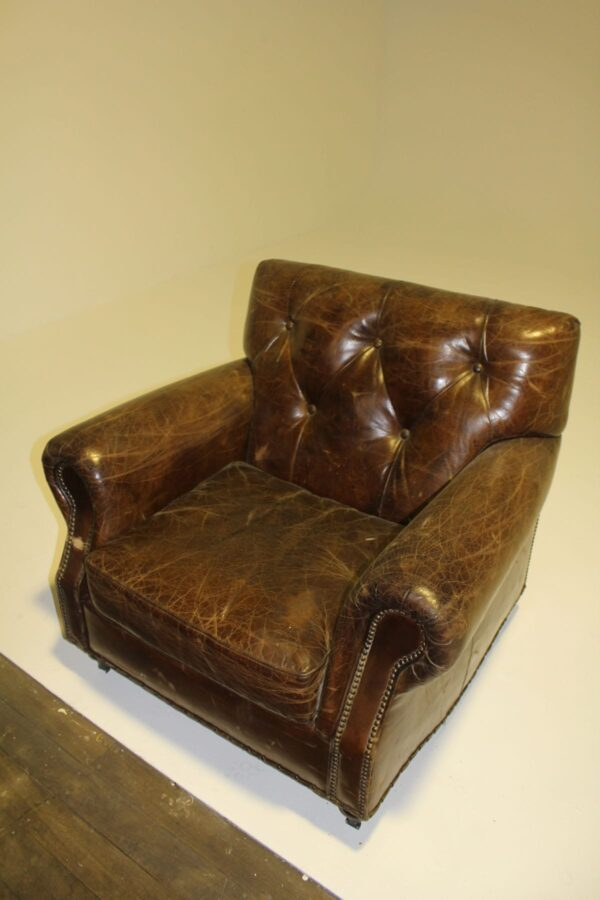 Leather Kensington Armchair