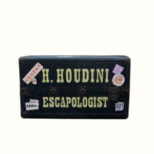 Vintage Houdini Travel Trunk-0