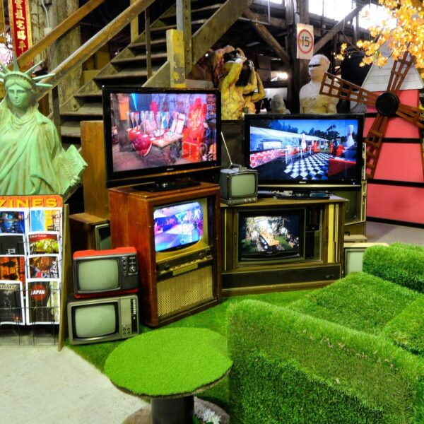 television for hire - sydney props