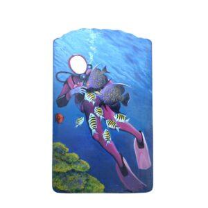 Cutout - Scuba Diver Photo Op. B