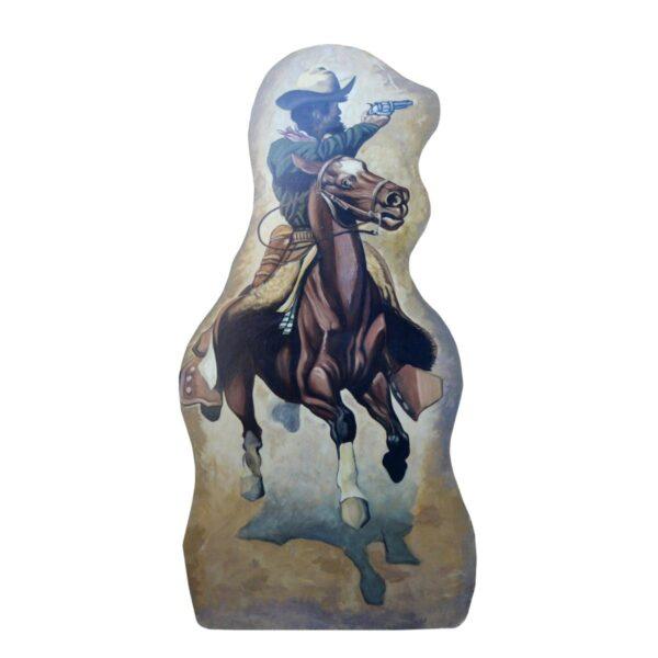 Cutout - Wild West Cowboy on Horseback
