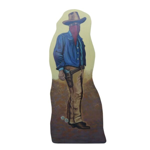 Cutout - Wild West Outlaw