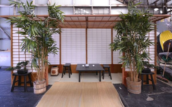 White Japanese Screens - Sydney Prop Specialists - Props Hire and Event Theming