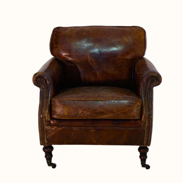Leather Winchester Armchair-0