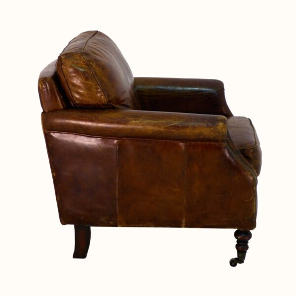 Leather Winchester Armchair-11543
