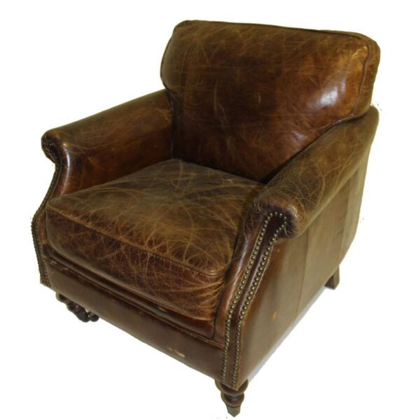 Leather Winchester Armchair-11085