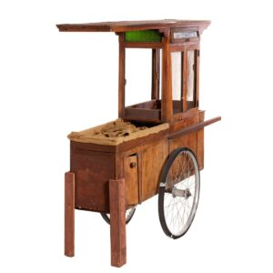 Cart 14 - Asian Serving Cart 'Sate Ayam'