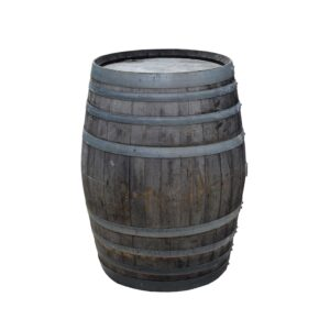 Large Wooden Barrel