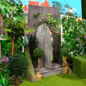 Enchanted Garden Door - Sydney Prop Specialists - Prop Hire and Event Theming