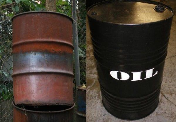44 Gallon Oil Drum-18346
