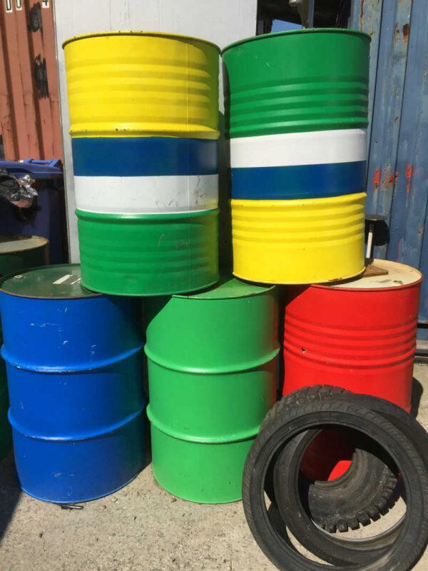 44 Gallon Oil Drum-0