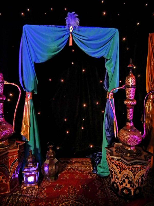 Arabian Moroccan Style Arch Entrance