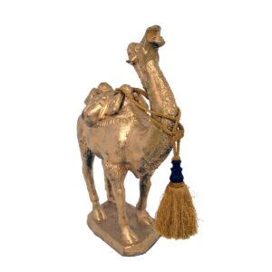 Gold Camel Statue-0