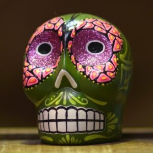 Assorted Day of the Dead Style Skulls