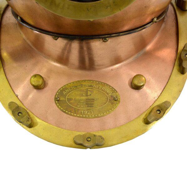 Deep Sea Diving Helmet - Circa 1921