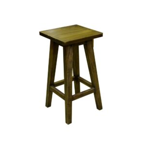Highly Polished Wooden Stool-0