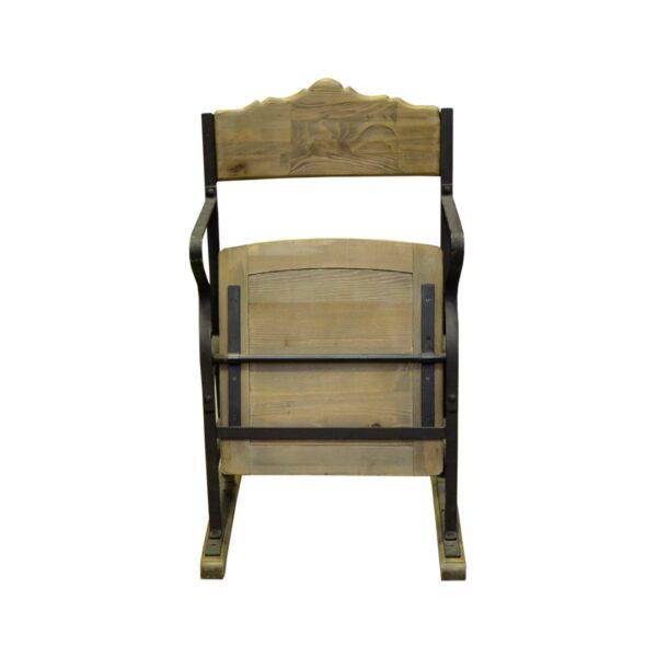 Vintage Wooden Cinema Chair-18404