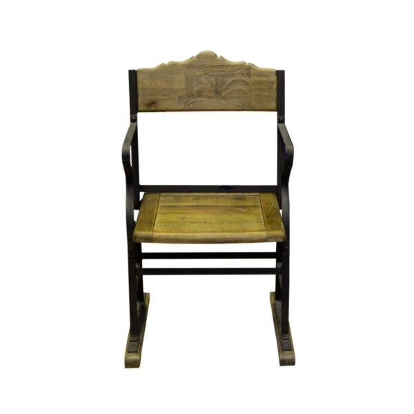 Vintage Wooden Cinema Chair-18405