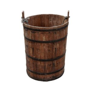 Wooden Peasant Bucket