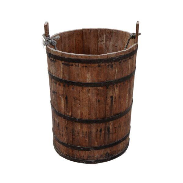 Wooden Peasant Bucket