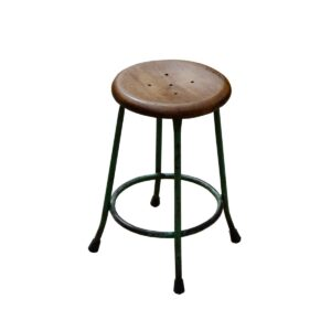 Vintage Style Button Stools-0