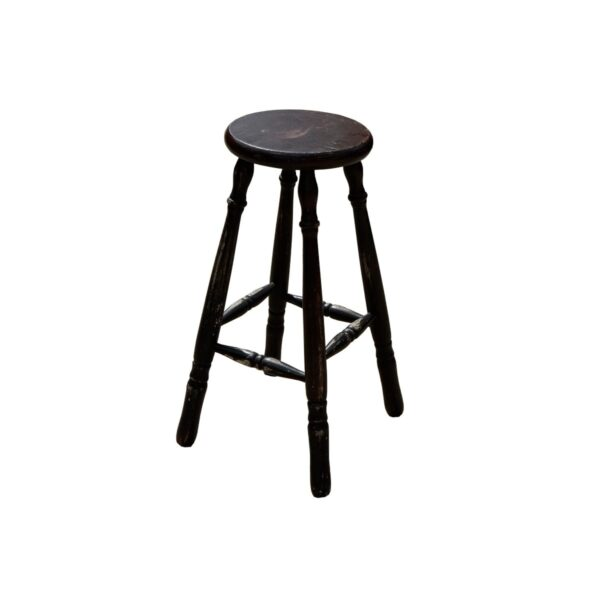 Assorted Wooden Stools-0