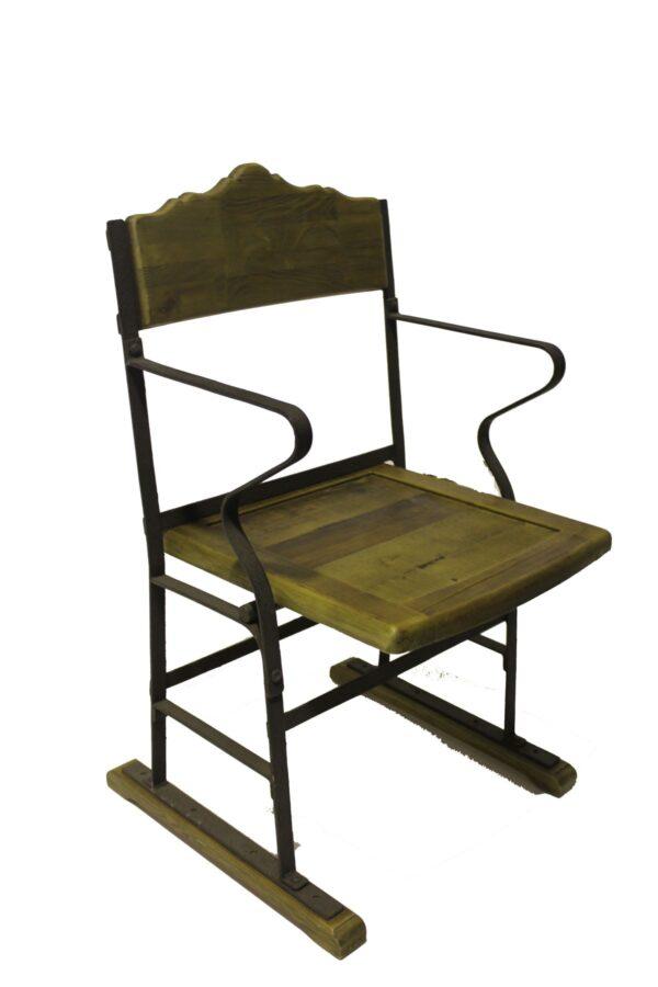Vintage Wooden Cinema Chair