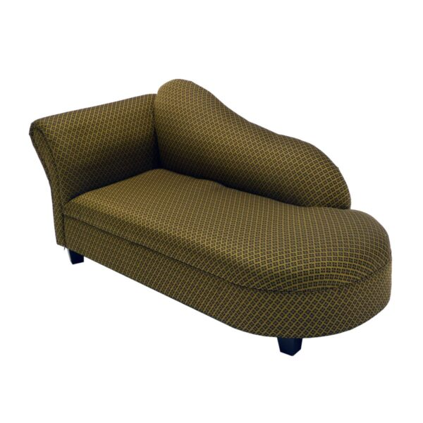 Gold Patterned Chaise Lounge-11573