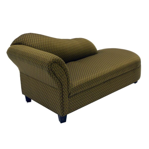 Gold Patterned Chaise Lounge-11575