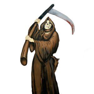Cutout - Horror Grim Reaper