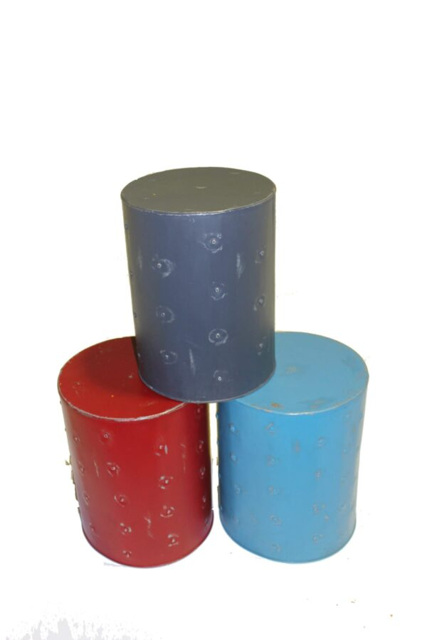 Industrial Cylindrical Stools -0